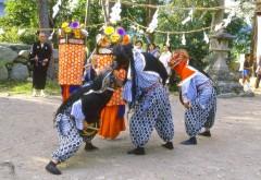 椋神社ササラ獅子舞