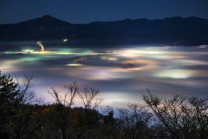 秩父側雲海夜景1