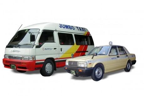 ジャンボタクシー・タクシー