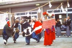 金崎の獅子舞