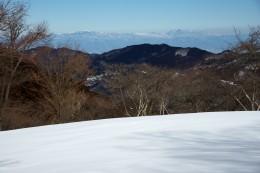 雪の美の山