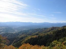 武蔵展望台から奥秩父